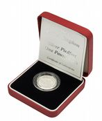 2004 Silver Proof Piedfort One Pound